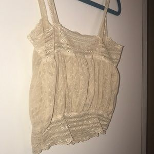 Tops - Boho lace bandeau crop top thing